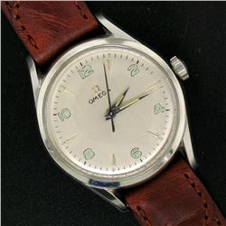 Vintage 60's Men's Omega 32.5mm Stainless Steel 17 Jewel Mechanical Watch 2667-4