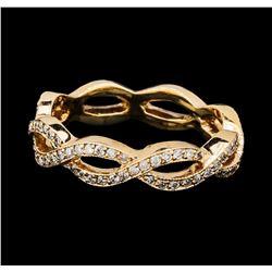 0.75 ctw Diamond Eternity Ring - 14KT Rose Gold