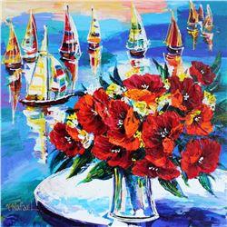 Colorful Yana Rafael Original Acyrlic