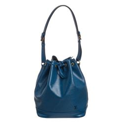Louis Vuitton Blue Epi Leather Noe GM Drawstring Shoulder Bag
