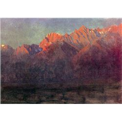 Sunrise in the Sierras by Albert Bierstadt