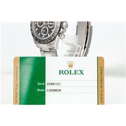 Unworn Rolex Cosmograph Daytona 116500