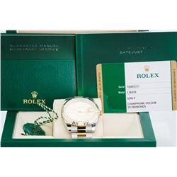 Unworn Rolex Datejust II 126333