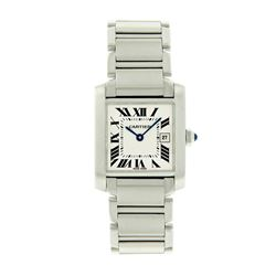 Pre-Owned Cartier Tank Francaise W51002Q3