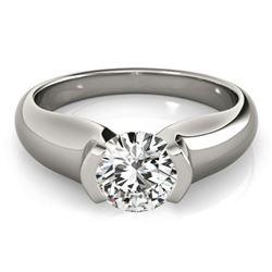 0.75 ctw Certified VS/SI Diamond Ring 18k White Gold