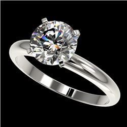 2.03 ctw Certified Quality Diamond Engagment Ring 10k White Gold