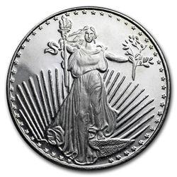 1 oz Silver Round - SilverTowne (Saint-Gaudens)