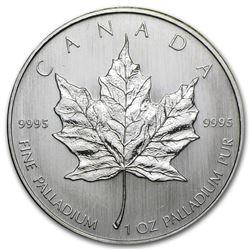 Canada 1 oz Palladium Maple Leaf BU (Random Year)