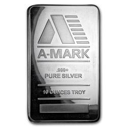 10 oz Silver Bar - A-Mark