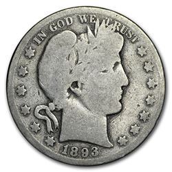 1893-O Barber Half Dollar AG