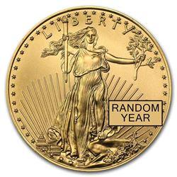 1/2 oz Gold American Eagle BU (Random Year)
