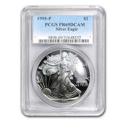 1995-P Proof Silver American Eagle PR-69 PCGS