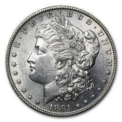 1891-S Morgan Dollar BU