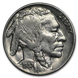 1937-D Buffalo Nickel BU