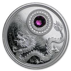 2016 Canada 1/4 oz Silver $5 Birthstones (February)