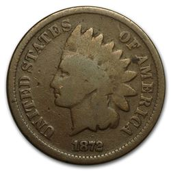 1872 Indian Head Cent Good