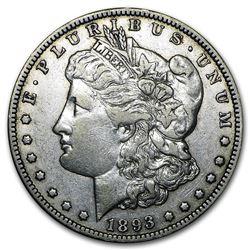 1893-O Morgan Dollar XF