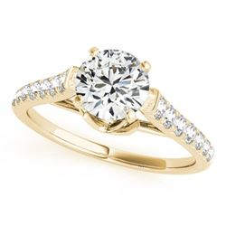 1.46 ctw Certified VS/SI Diamond Solitaire Ring 14k Yellow Gold