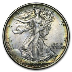 1936 Walking Liberty Half Dollar XF