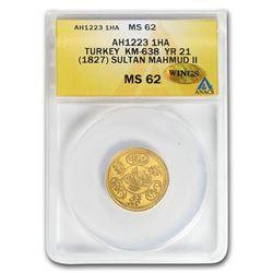 AH1223/1827 Turkey Gold Hayriye Altin BU