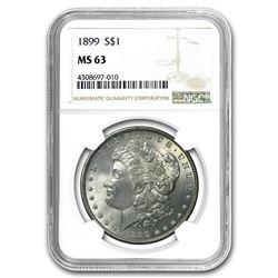 1899 Morgan Dollar MS-63 NGC