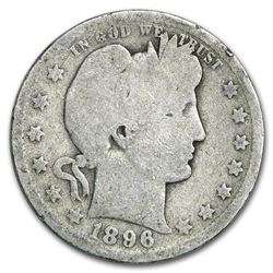 1896-O Barber Quarter Good