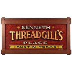 Kenneth Threadgill's Place Austin, Texas Sign