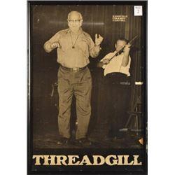 Kenneth Threadgill Kerrville Folk Festival Poster