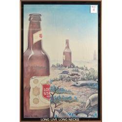 Jim Franklin Lone Star Beer Long Live Long Necks