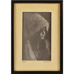 Janis Joplin Burton Wilson Photograph 1970