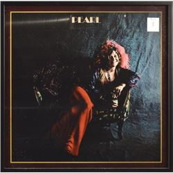 Janis Joplin Pearl Framed Album Cover Photo