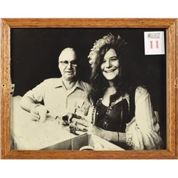 Janis Joplin & Kenneth Threadgill Photograph