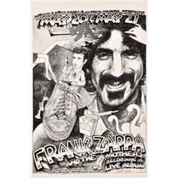 Frank Zappa Armadillo World Headquarters Poster