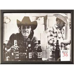 Doug Sahm Big Red & Lone Star Beer Photo