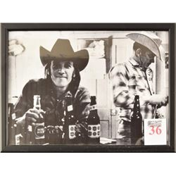 Doug Sahm Big Red & Lone Star Beer Photo