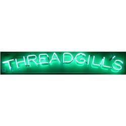 Threadgill's Neon Sign
