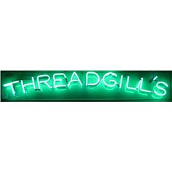 Threadgill's Neon Sign
