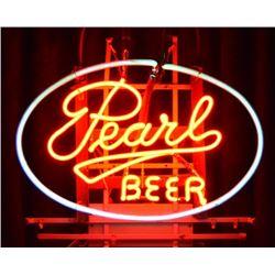 Pearl Beer Neon Sign