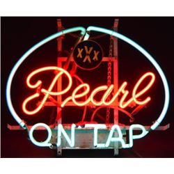 Pearl On Tap Neon Sign
