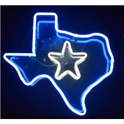 Texas Lone Star Custom Neon Sign