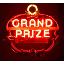 Grand Prize Beer Neon Sign