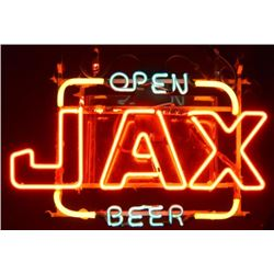 Jax Beer Neon Sign