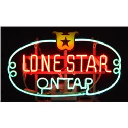Lone Star On Tap Neon Beer Sign