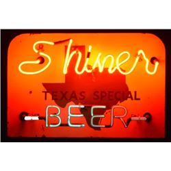Shiner Beer Texas Special Neon Sign