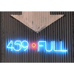 459-FULL Exterior Banquet Hall Neon Sign
