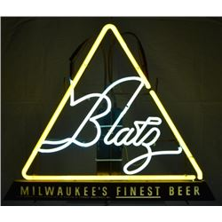Milwaukee's Finest Beer Triangle Neon Sign