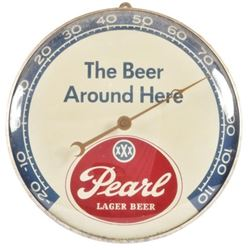 Pearl Lager Beer Thermometer