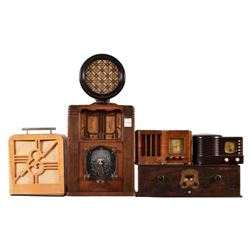 Collection of Antique Radios