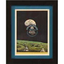 Jim Franklin Vulcan Gas Co. Mother Earth Handbill