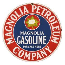 Magnolia Petroleum Co. Porcelain Sign